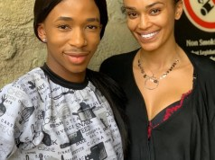 Lasizwe and Pearl Thusi