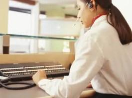 Receptionist Switchboard Operator