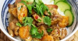 Spicy lemongrass chicken