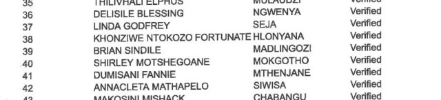 EFF candidate list
