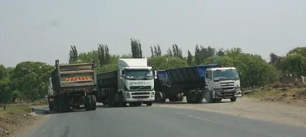 Eskom trucks
