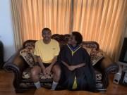 Loyiso Gola and his mom