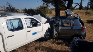 Photo of 2 injured in Carletonville Head-on Accident