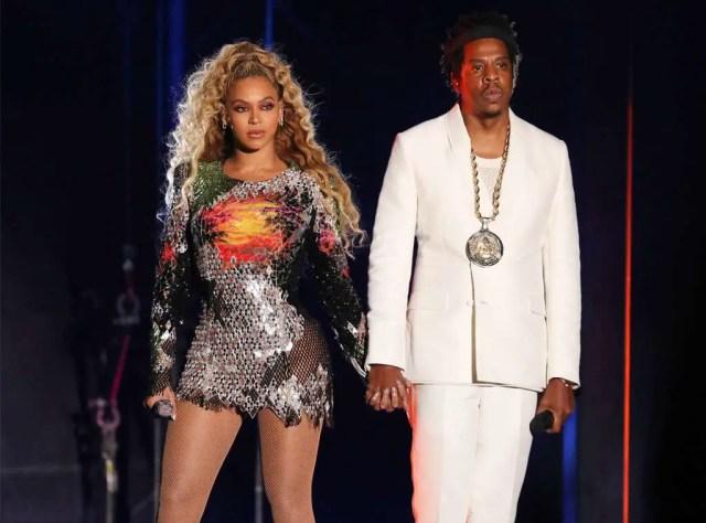 Beyoncé and Jay Z