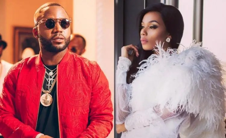 Cassper Nyovest and Bonang Matheba