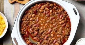 Chilli baked beans