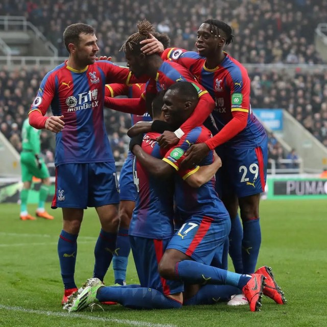 Crystal Palace 1 - 0 Newcastle