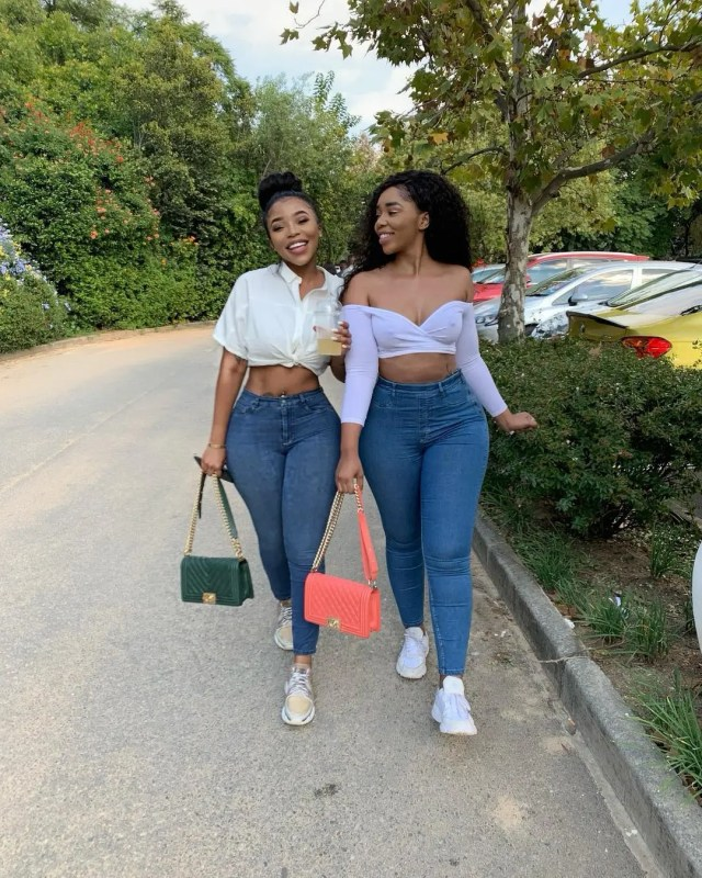 Faith Nketsi and Kim Kholiwe