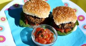 Mini veggie burgers