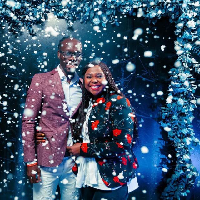 Reneilwe and Mpho Letsholonyane