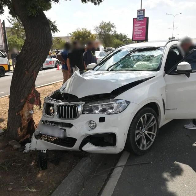 Sandton Accident