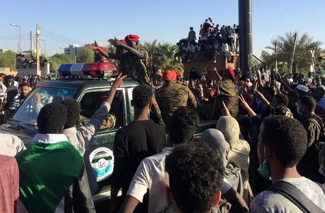 Sudanese soldiers