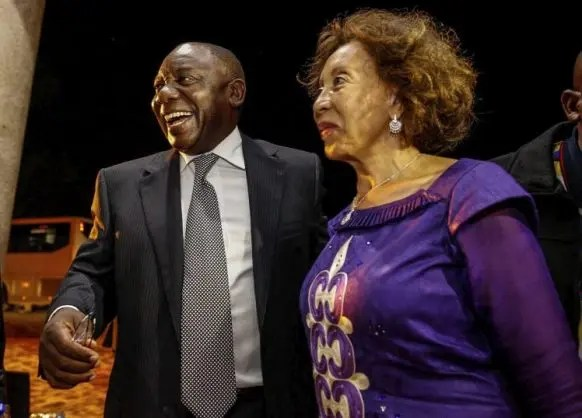 President Cyril Ramaphosa and the First Lady