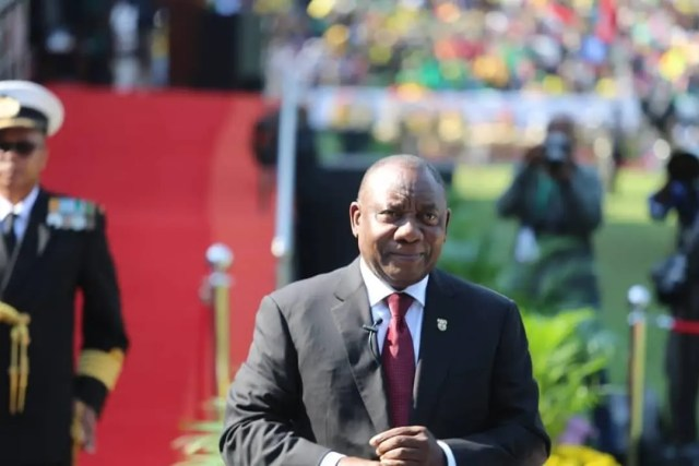 Ramaphosa #SAInauguration19