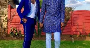 Somizi Mhlongo and Mohale Motaung