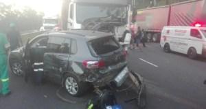 Four injured