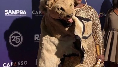 Photo of Why Jessica Mbangeni wore a Lion