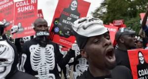 Kenyans protest