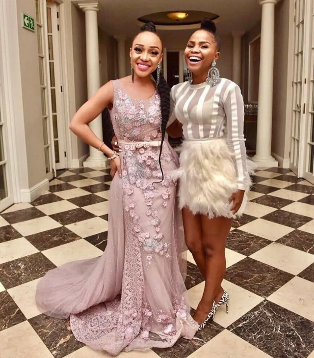 Khanya Mkangisa and Thando Thabethe