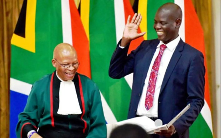 Minister Ronald Lamola