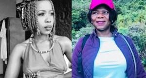 Ntsiki Mazwai and Thuli Madonsela