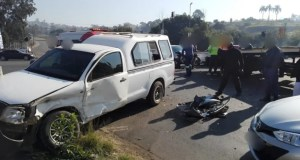One injured in PMB crash