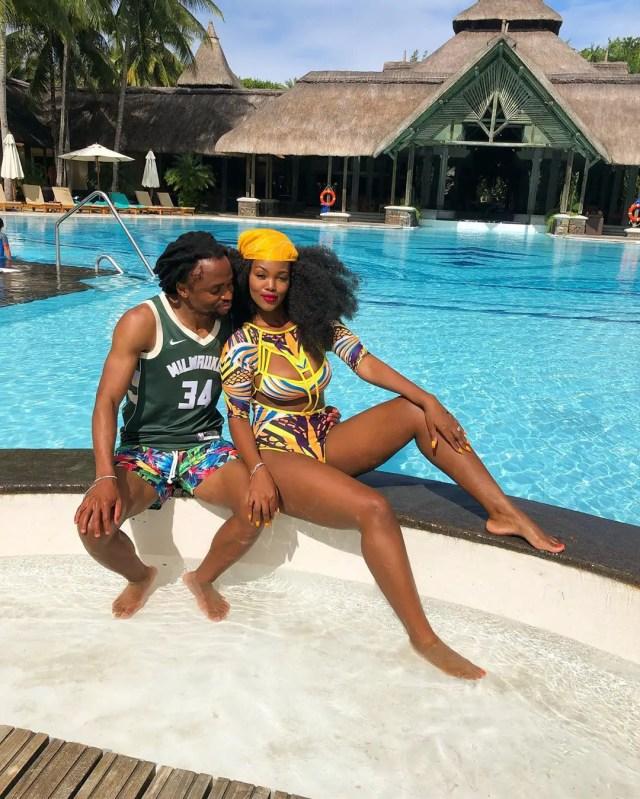Siphiwe Tshabalala and Bokang