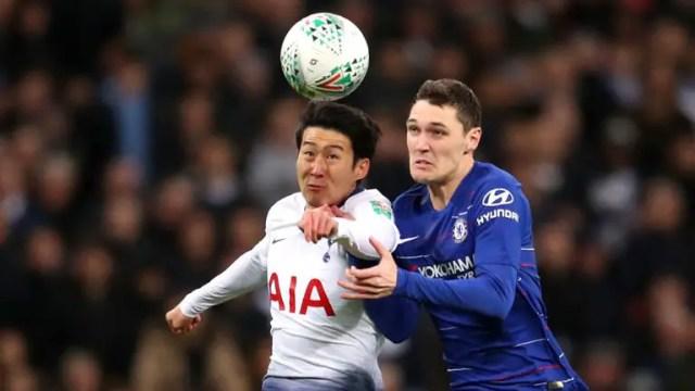 Tottenham and Chelsea