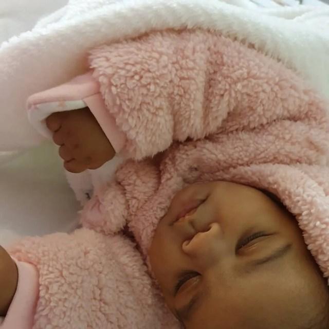 Amo Chidi's baby girl