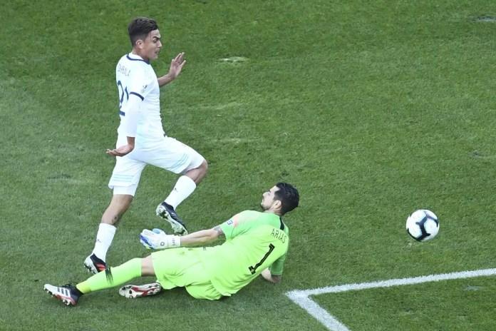 Argentina 2 - 1 Chile