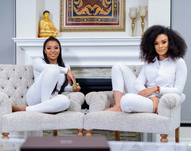 DJ Zinhle and Pearl Thusi