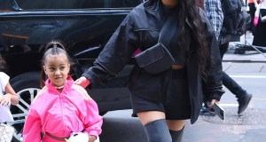 Kim Kardashian and North