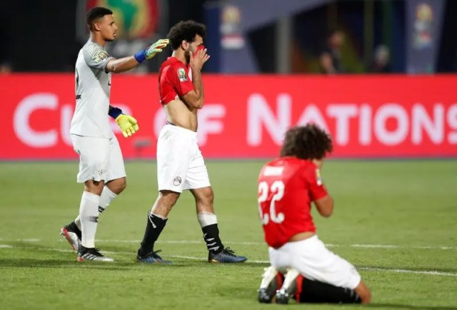 Egypt lose to South Africa