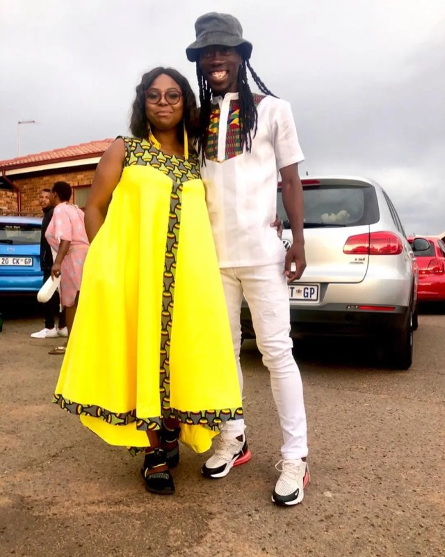 Mpho and Reneilwe Letsholonyane
