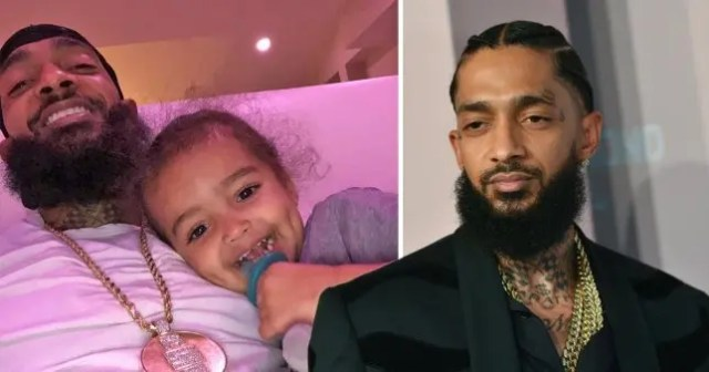 Nipsey Hussle's two-year-old son