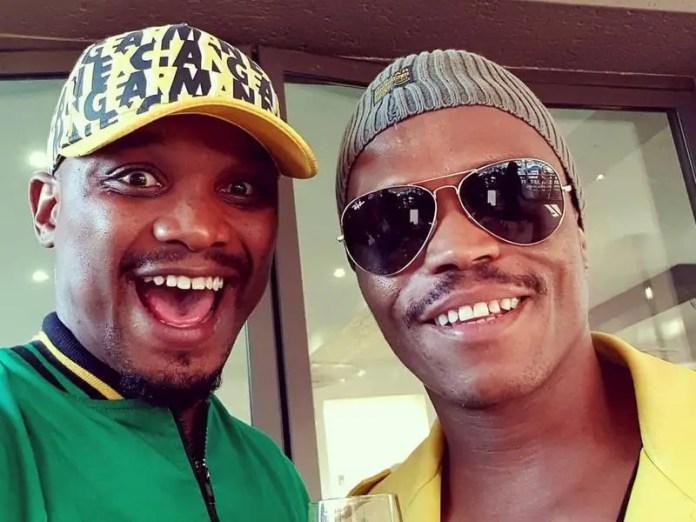 Somizi and TT Mbha
