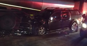 bakkie vs truck crash