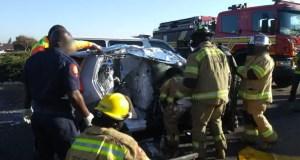 dump truck vs car crash
