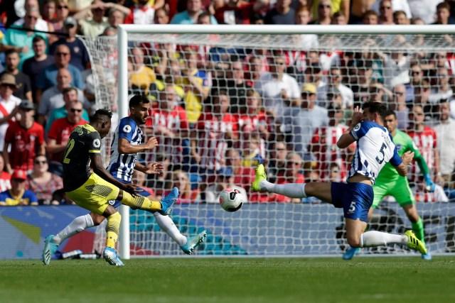 Brighton 0 - 2 Southampton