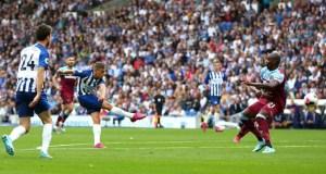 Brighton 1 - 1 West Ham