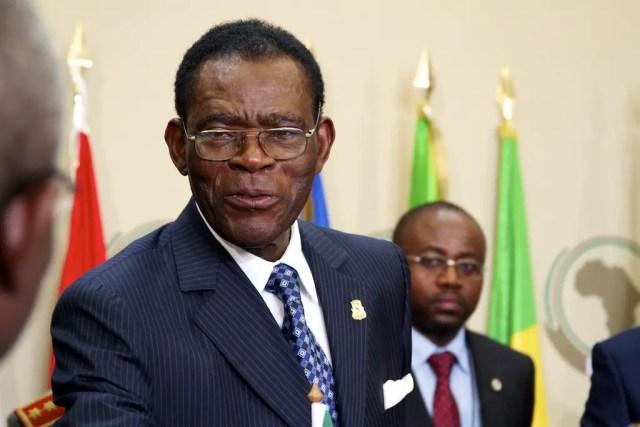 Equatorial Guinea leader