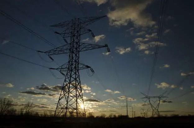 Joburg electricity pylons