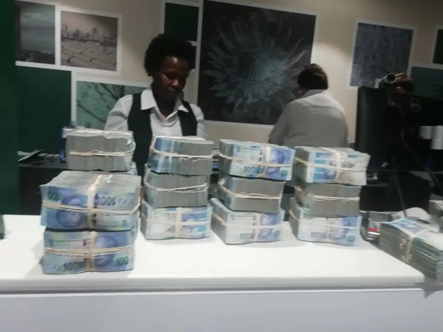 Man busted with over R1m