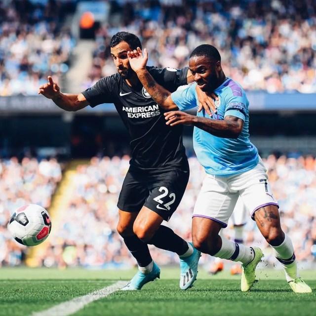 Manchester City 4 - 0 Brighton & Hove Albion