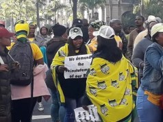 Moses Mabhida protests