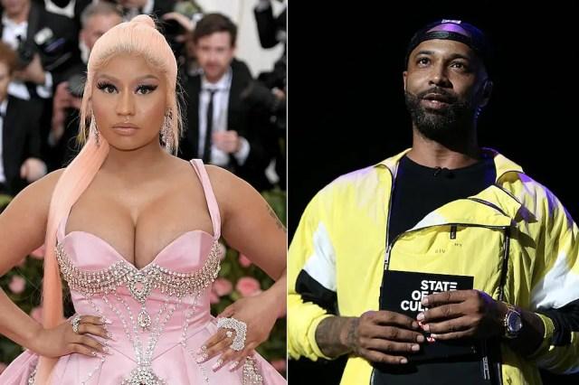 Nicki Minaj and Joe Budden