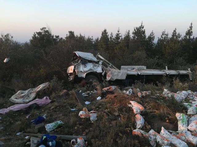 One dead in truck rollover