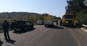 One dead in truck vs car collision