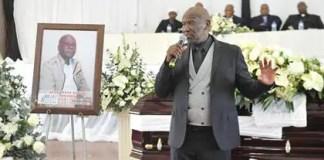Sam Meyiwa Laid to Rest