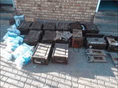 illegal ammo and explosives